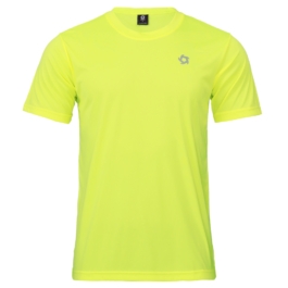 50D輕柔布-排汗T恤-A05螢光黃