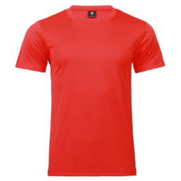 50D輕柔布-排汗T恤-A07紅色