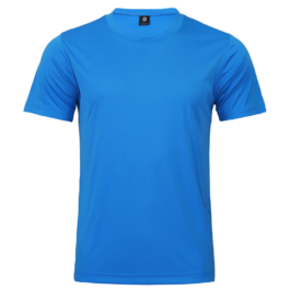 50D輕柔布-排汗T恤-A08藍色