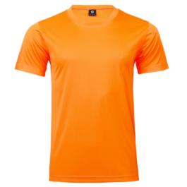 50D輕柔布-排汗T恤-A10橘