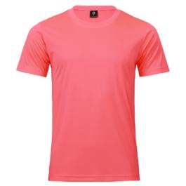 50D輕柔布-排汗T恤-A16螢桃